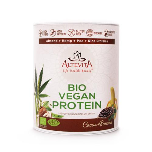 Altevita BIO Vegan proteín Cacao + banán 300g